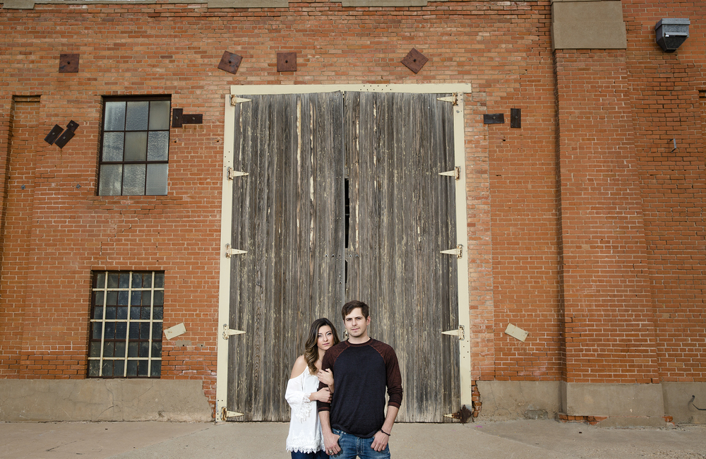 industrial, lubbock texas, hard light, edgy, wedding photography
