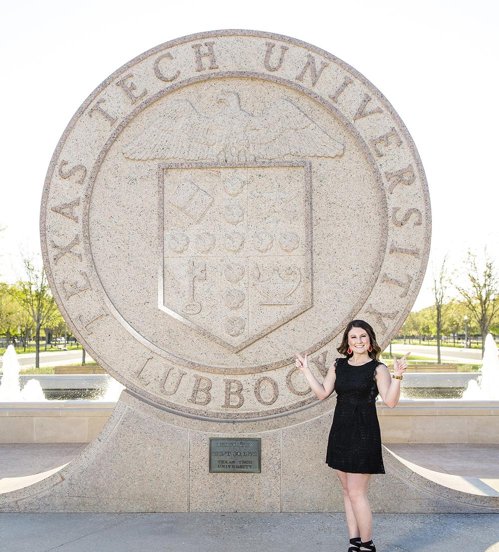 Texas Tech Senior, Lubbock, TX, Senior Portrait