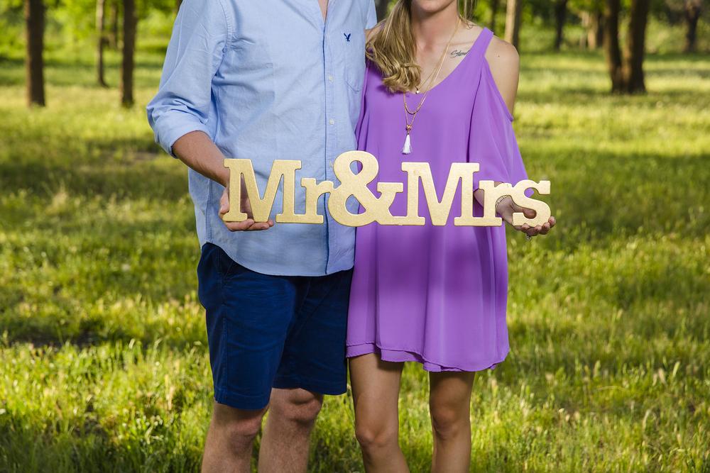 Mr & Mrs, Engagements