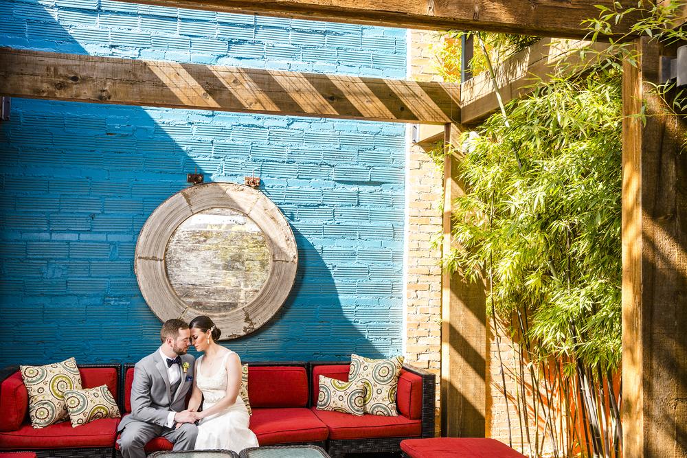 McPherson Winery, Blue Wall
