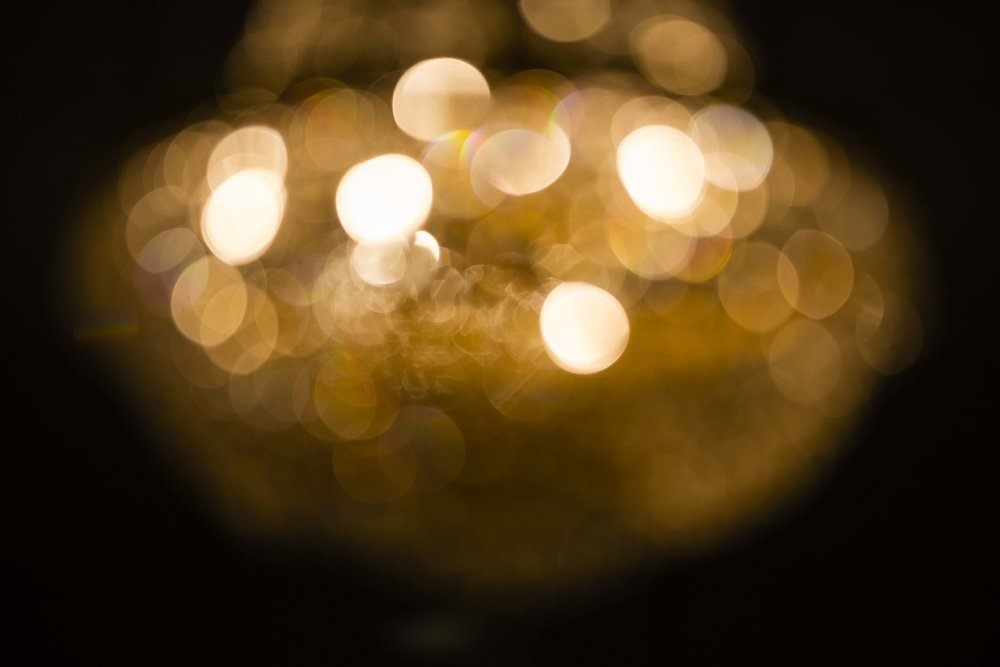 artistic, chandelier, bokeh, out of focus, lubbock wedding photography, legacy event center