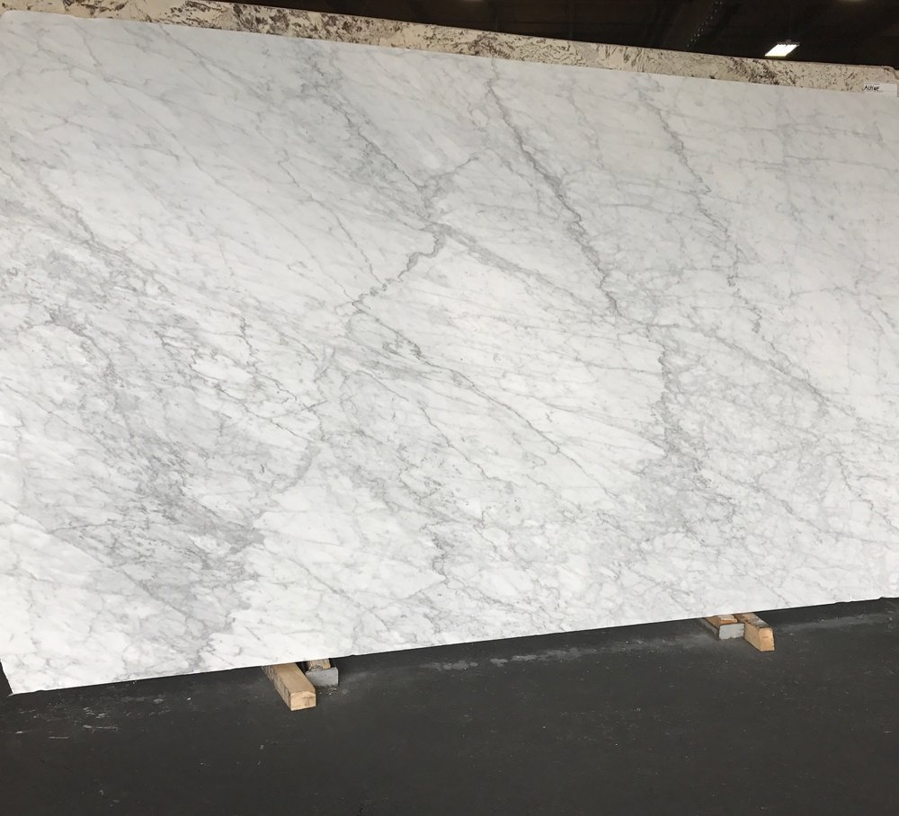 A trip to the stone yard NEVER fails to get my creativity boiling! This marble slab is from the same block that we tagged for an amazing client in Snohomish. She's seriously the sweetest, is trusting and has impeccable taste.