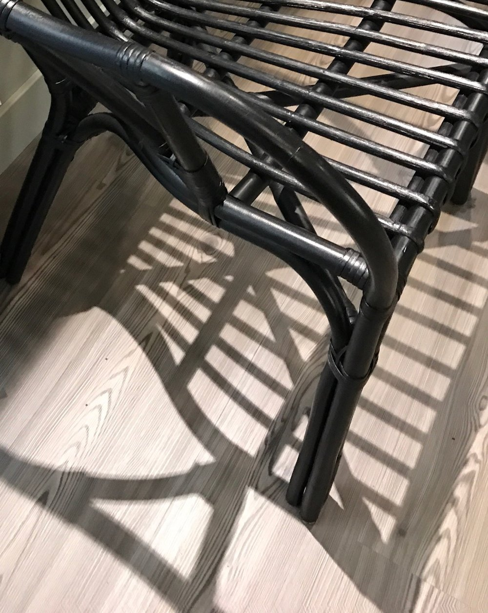 Sometimes you have to make trips down to IKEA. I unashamedly admit that when I do, I always spy some eye candy! These black rattan chairs are adorable, and if I had a place for them I'd snag them up in a heartbeat!