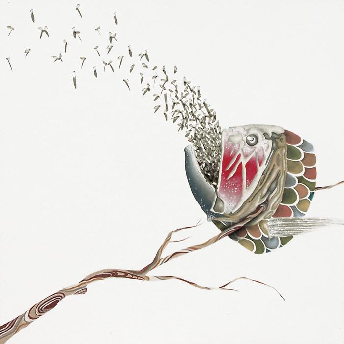 Swarming Away (Quiet Seeds of an Epidemic)