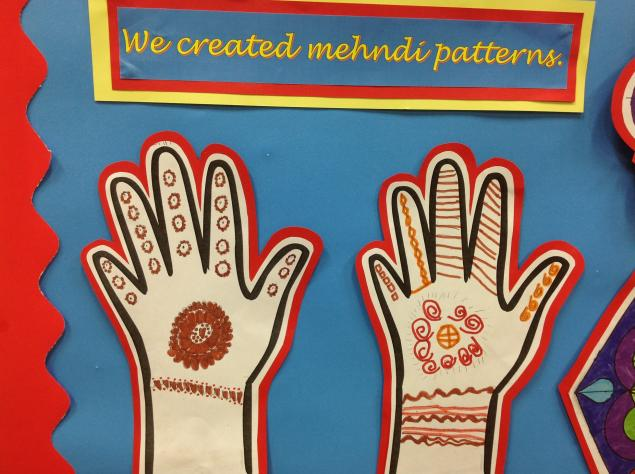 We created Mhendir  patterns.