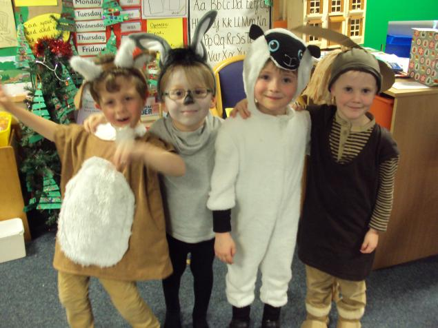 Year 1 animals.