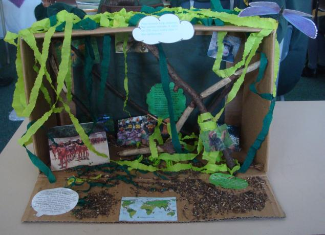 Lewis' model of the rainforest