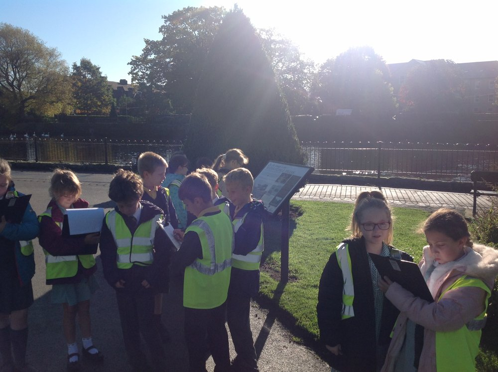 During our work Otley, the children also enjoyed discussing whether Otley should re-open the Lido.