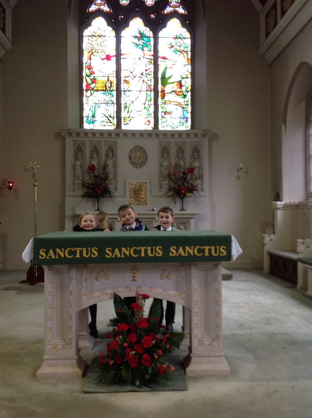 We really enjoyed exploring our Catholic Church. Thank you Father Lawrie.
