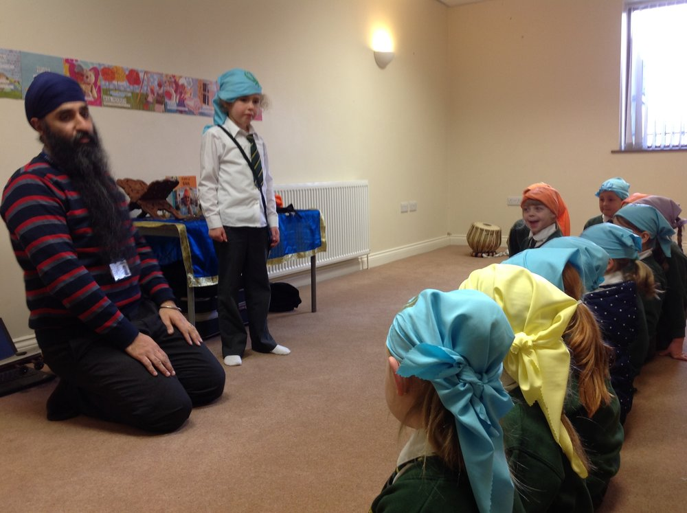 Learning about the symbols of Sikhism