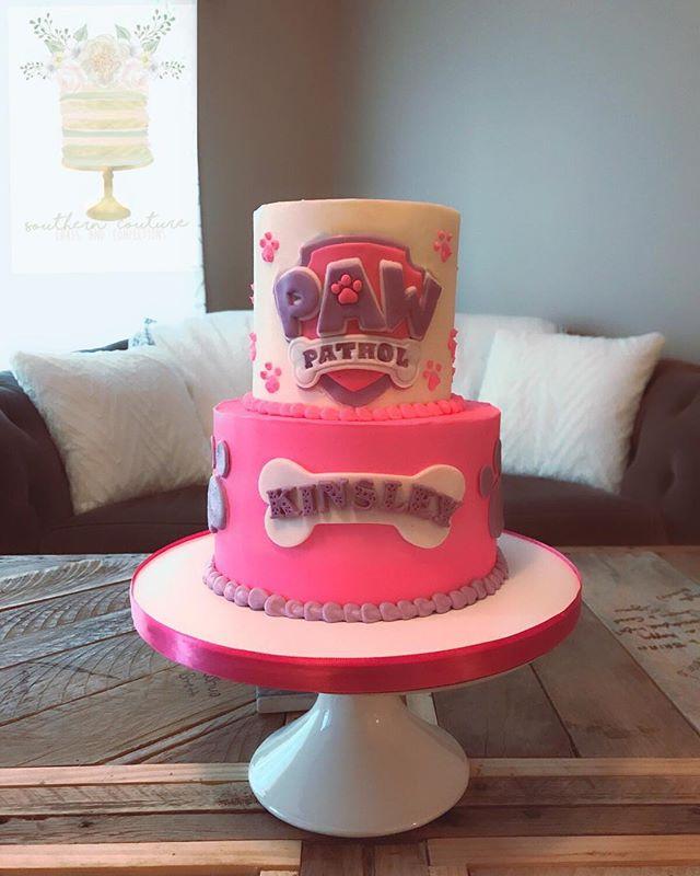Love this girly @pawpatrol cake from Kinsley's 2nd birthday! 💕💜🐶 #pawpatrol #cake #pawpatrolcake #cakeinspo #cakeart #cakelove #cakegoals #cakesofinstagram #cakesofig #cake #customcake #ncbakers #ncbakeries #nccakes #nccustomcakes #nccakeartist #cakedecorator #specialtycakes #bakefeed #cakedecorating #instacakes #cakelife #fayettevillenc #dunnnc #fortbraggnc #raleighnc #garnernc