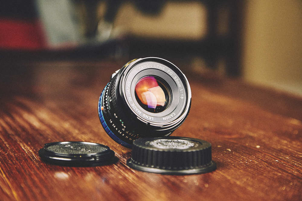 I love this guy: my Canon FD 50mm f/1.8