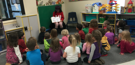 KDWT Ambassador Catherine spent her MLK Holiday reading to 21 children at the YMCA Twin Tiers Early Head Start Program in Olean, NY Monday, January 19, 2015- MLK DAY.