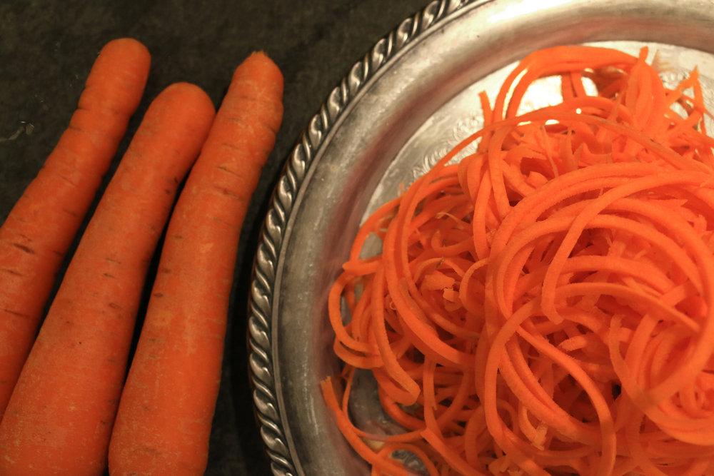Cumin Carrot Noodles-GourmandeSante-1