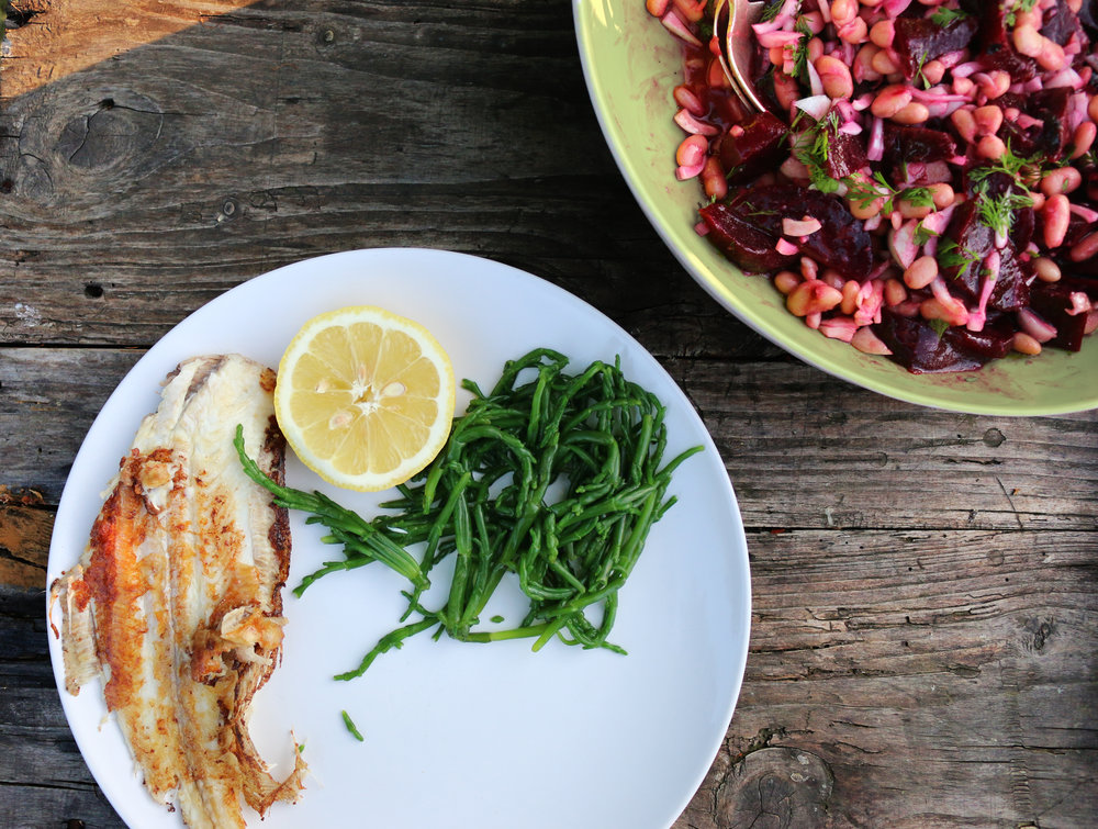 Beet-WhiteBean-Salad-Gourmandesante