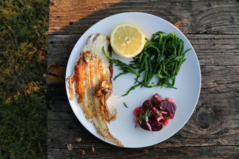 Beet-WhiteBean-Salad-Gourmandesante-sole-recipe