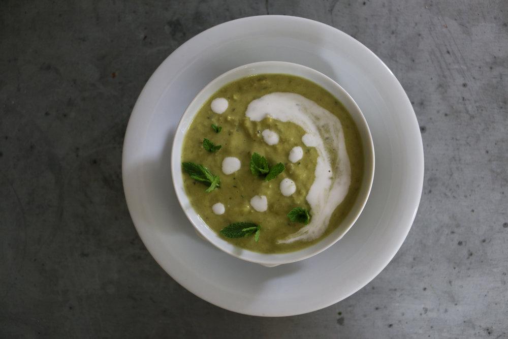 Mint-pea-soup-gourmandesante