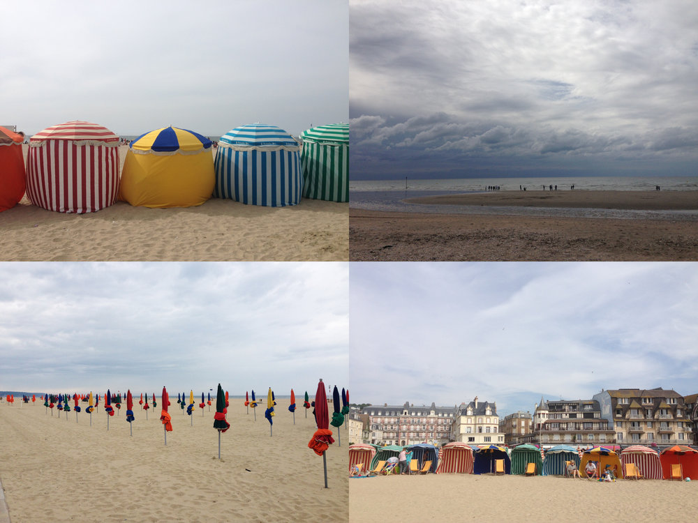 NORMANDY-DEAUVILLE-BEACH