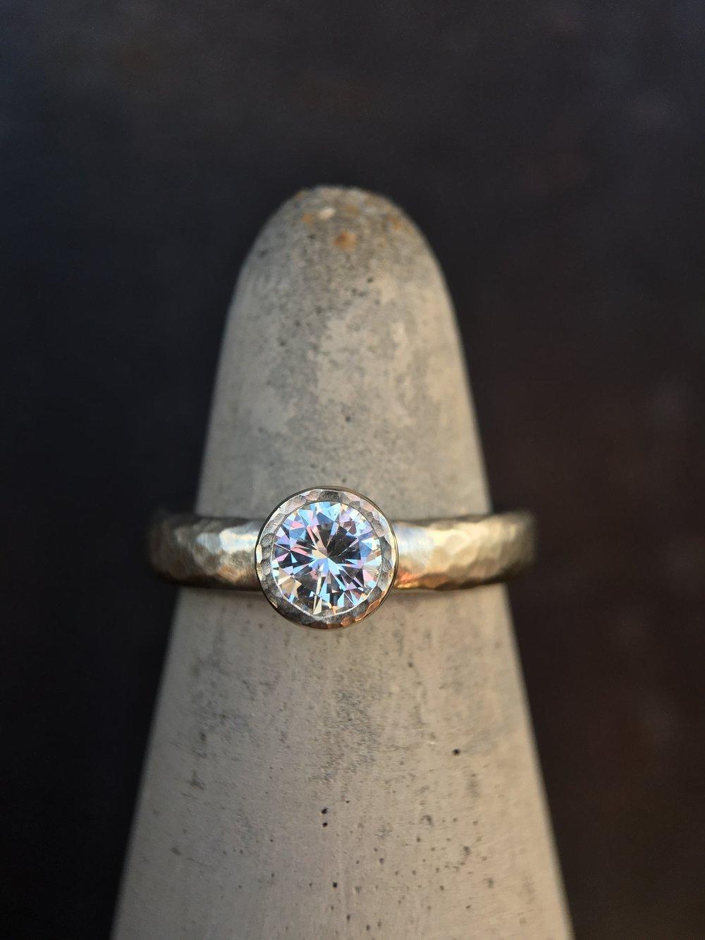 Diamond 14KT White Gold Ring