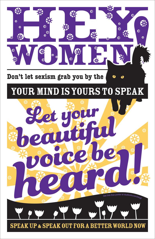 Hey Women Poster