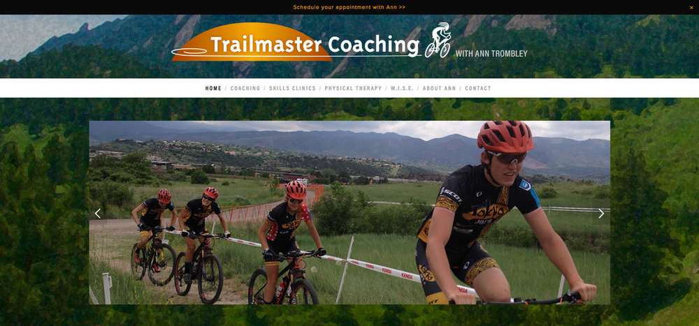 Trailmaster Coaching Website Design