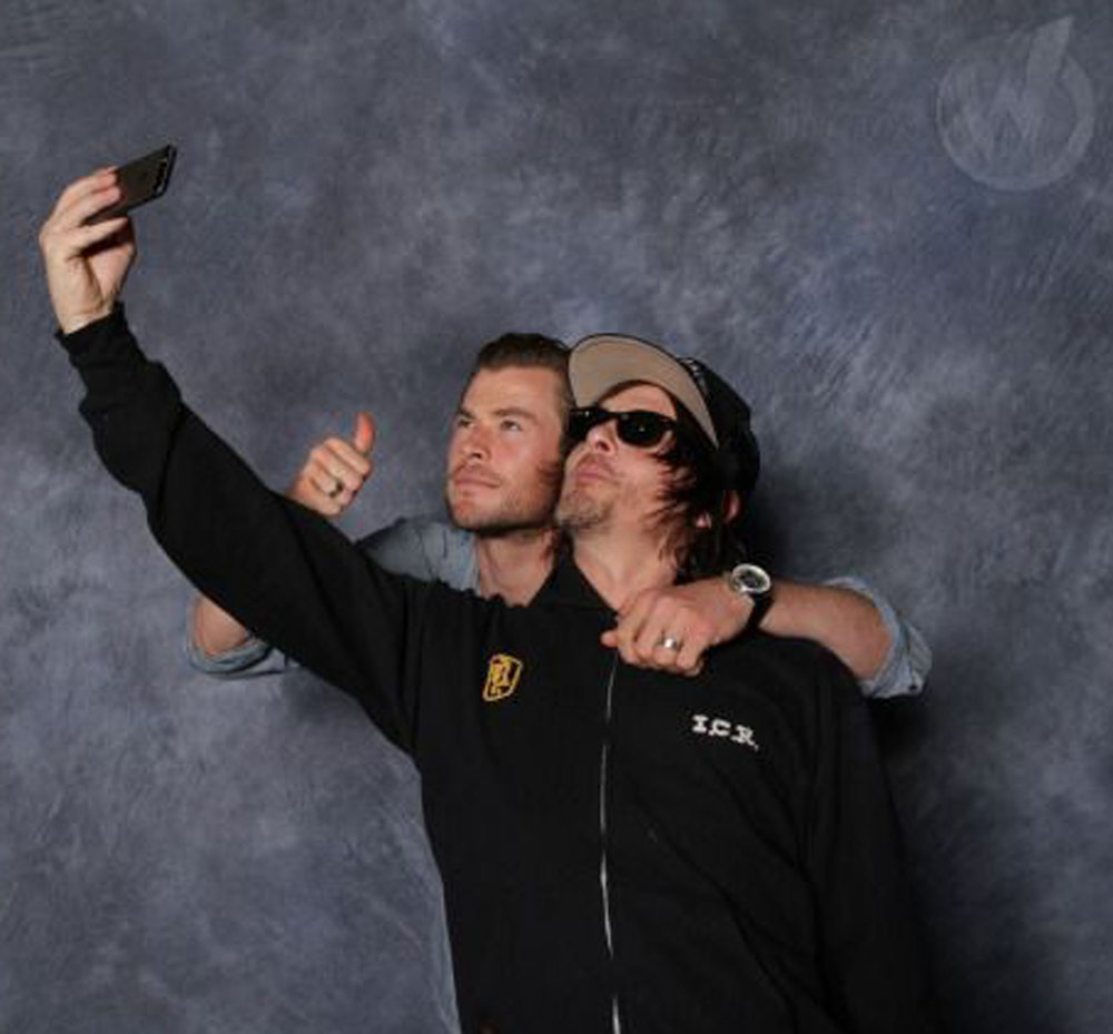 NORMAN AND CHRIS. WIZARDWORLD.jpg