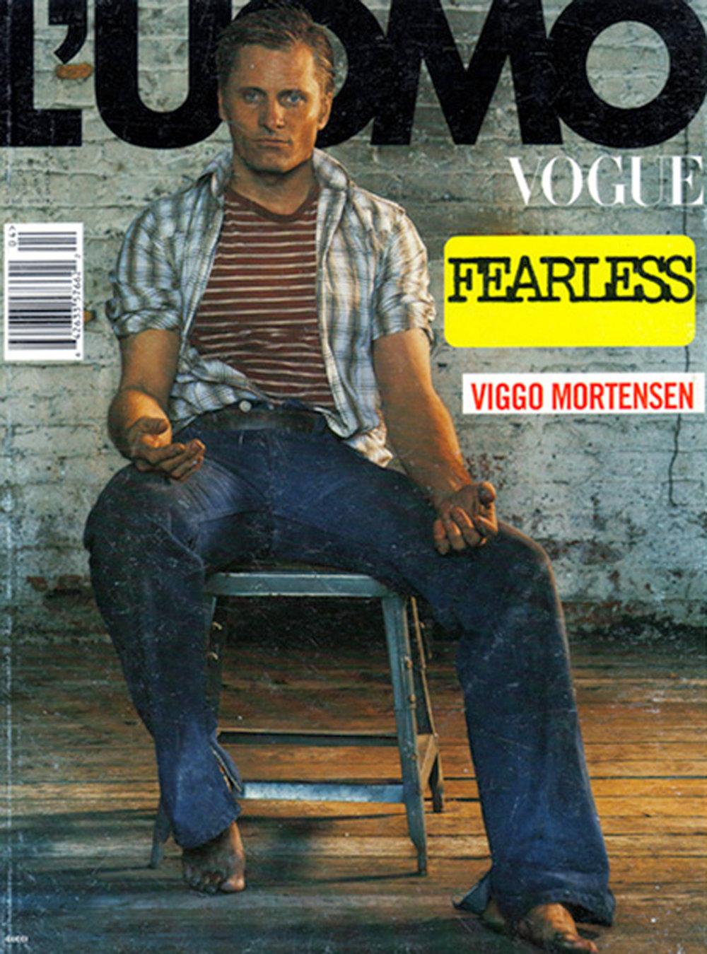 VIGGO MORTENSEN. L'UOMO VOGUE BY STEVEN KLEIN. COVER.jpg