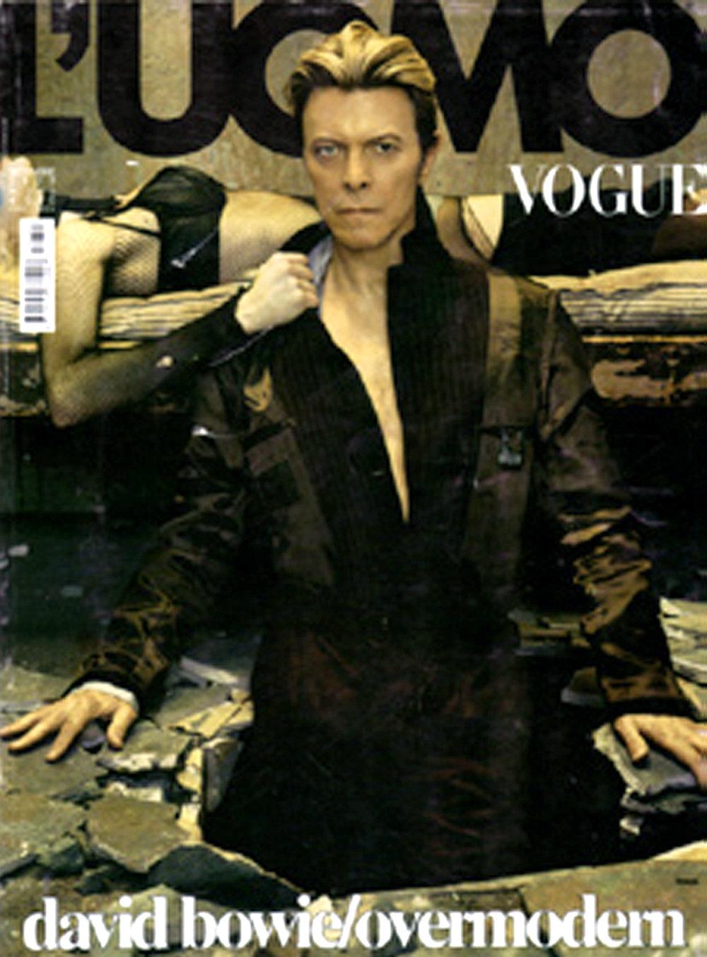 BOWIE. L'UOMO VOGUE BY STEVEN KLEIN. COVER.jpg