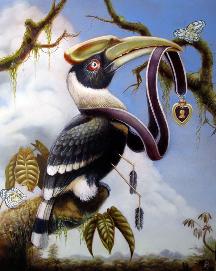 """The Greater Hornbill's swan song"""