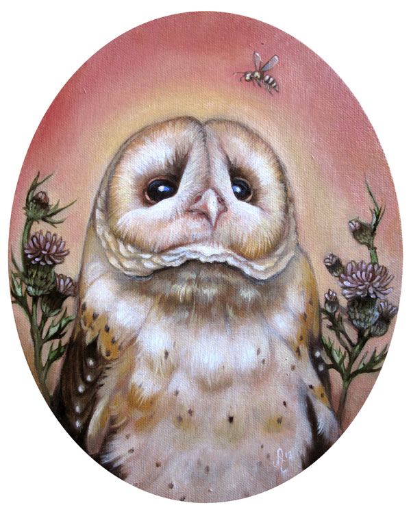 """The eastern grass owl"""