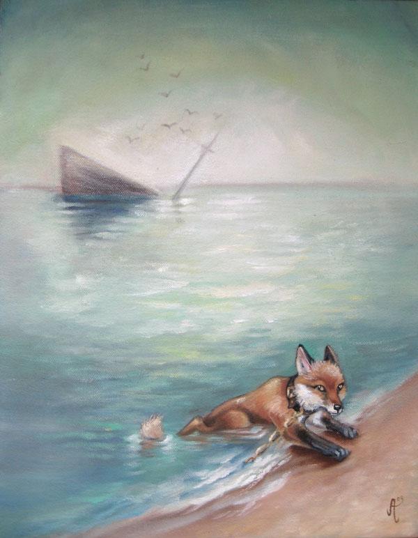 """Scavenger of the sea"""