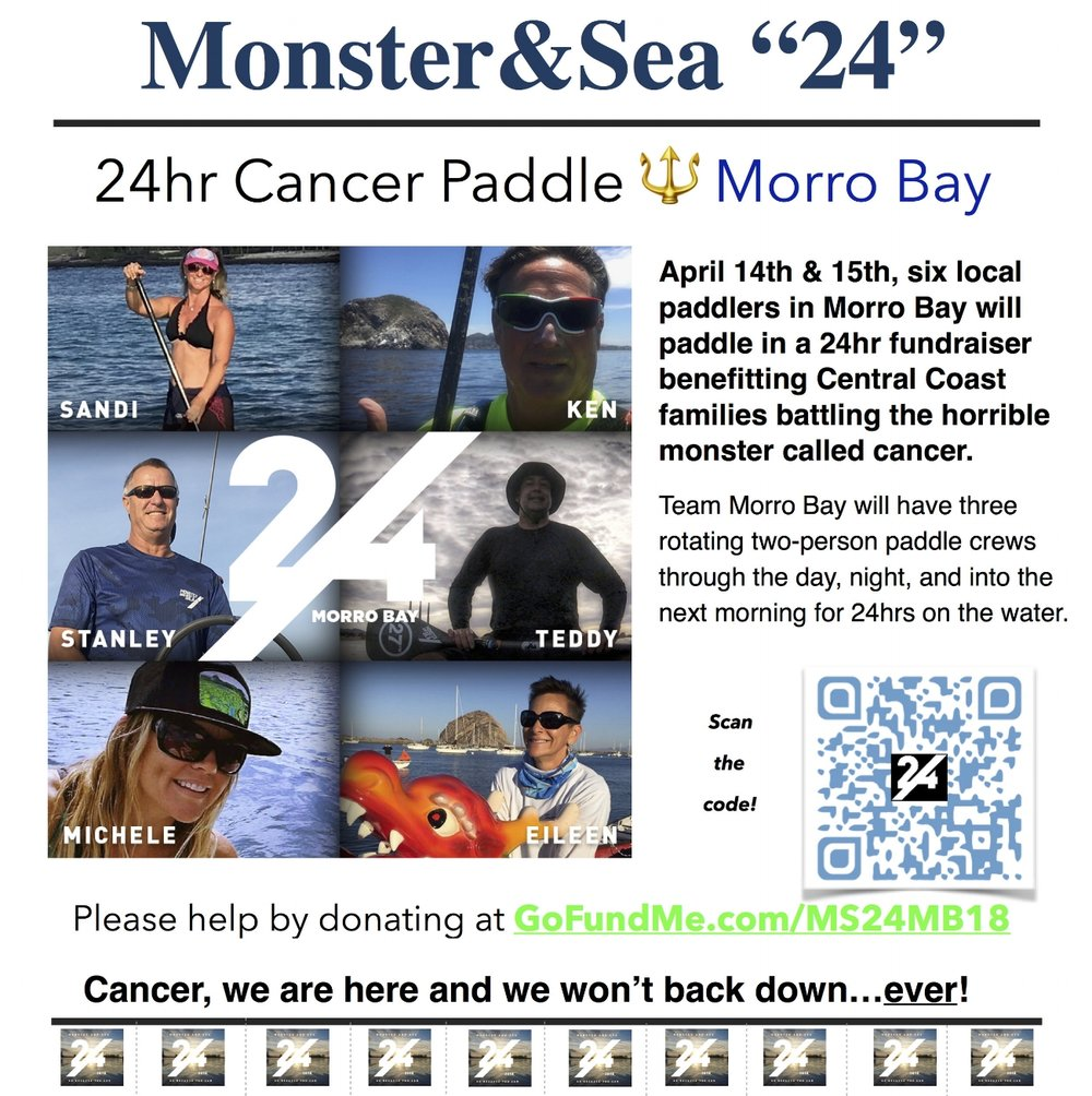 "Monster & Sea ""24"" Team Morro Bay Flyer"