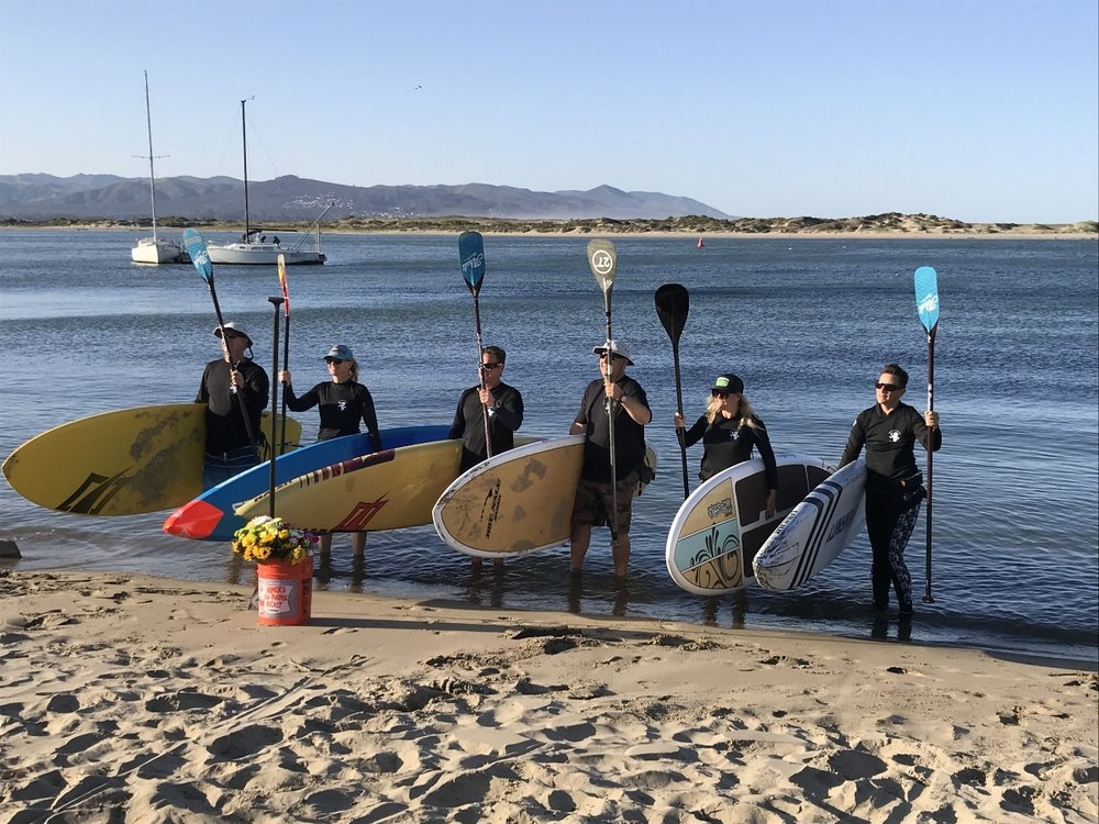 "2018 Monster & Sea ""24""Team Morro Bay - (L to R) Stanley Craig, Sandi Twist, Ken Twist, Teddy Borja, Michele Mechling, Eileen Small."