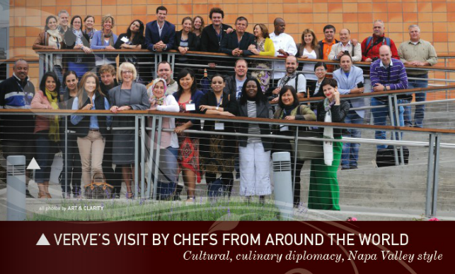 Verve Visit by Chefs From Around the World