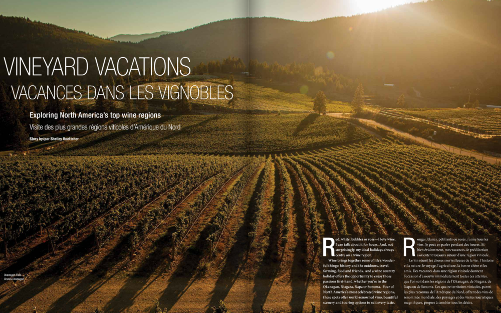 Vineyard Vacations