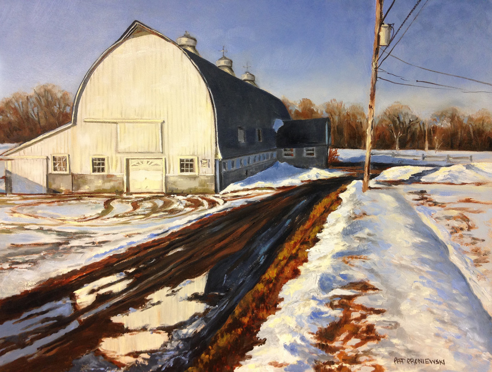 """Final Thaw, Sunny Lane Farm"""