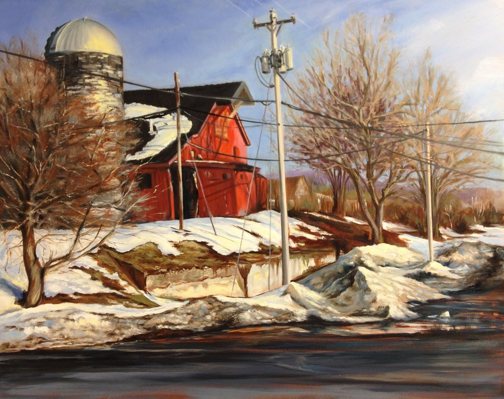 Georgic: South River Road Lambertville