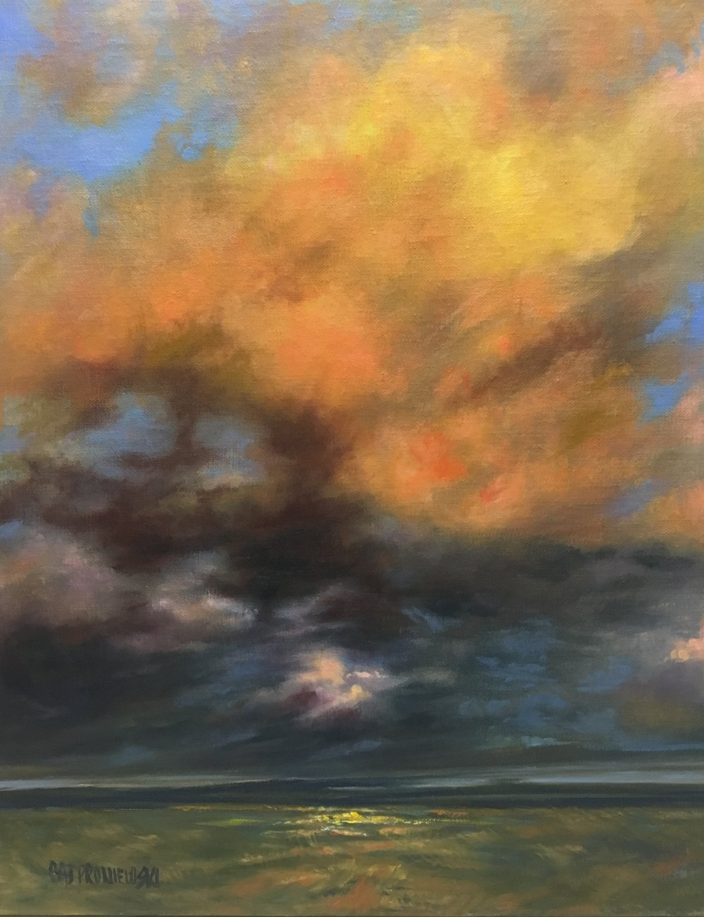 """Golden Sunset Storm"""