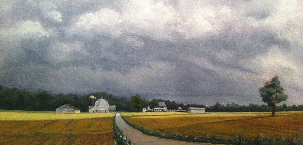 Spring Storm Sunny Lane Farm Columbus NJ 001.JPG