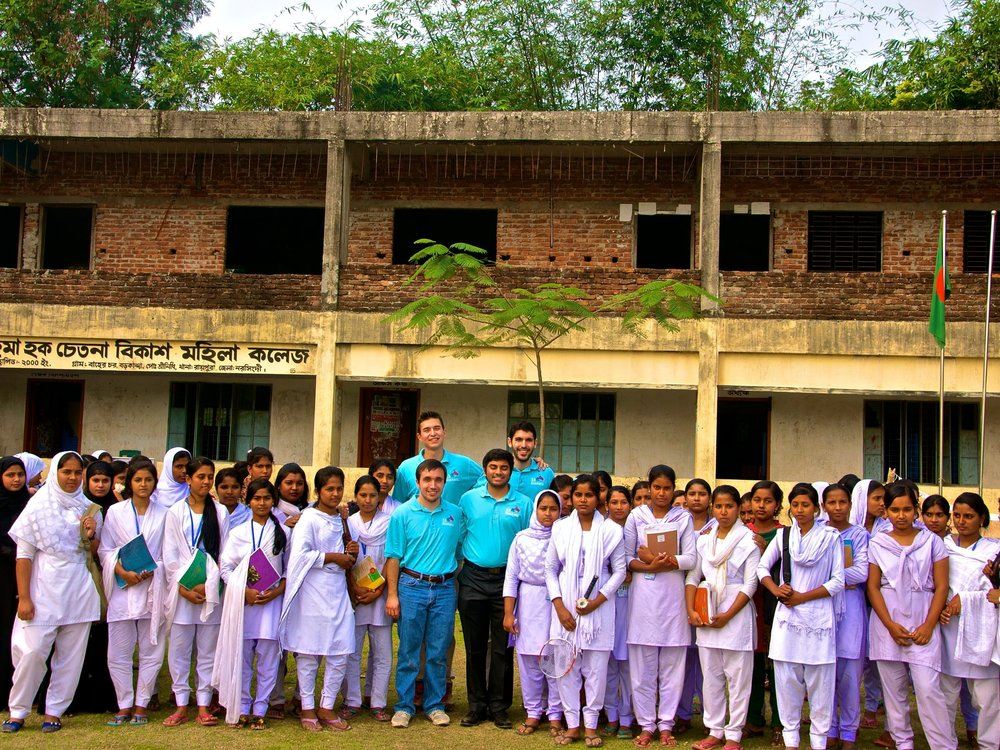 Rahima Hoque Girls' College - Narsingdi, BangladeshJanuary 2015