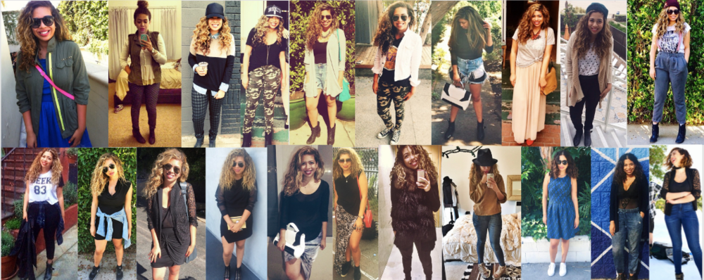 Click to see how my style has evolved over the last 5 years!