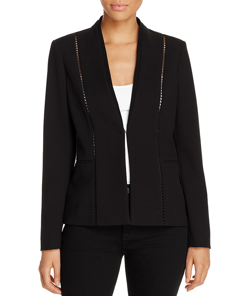 Love this blazer for its uniqueness.