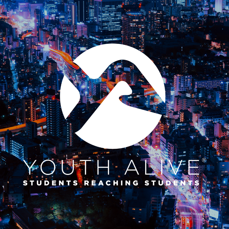 Youth Alive is committed to the most basic right for every student - to know and have a personal relationship with Jesus. Youth Alive works cross-denominationally thru a wide variety of strategies to empower students to reach students and to connect churches and youth ministries to schools.    • Evangelism    •    Praying    for a generation    • Students    connecting    students to Jesus    • Students    working together    to reach more    • Churches connecting to serve their schools    Stay tuned for more info on the 7 Project, Campus Clubs & Student Resources for Youth Alive as well!