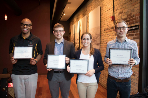 SmartStart graduation with fellow tech startups (April 2016)