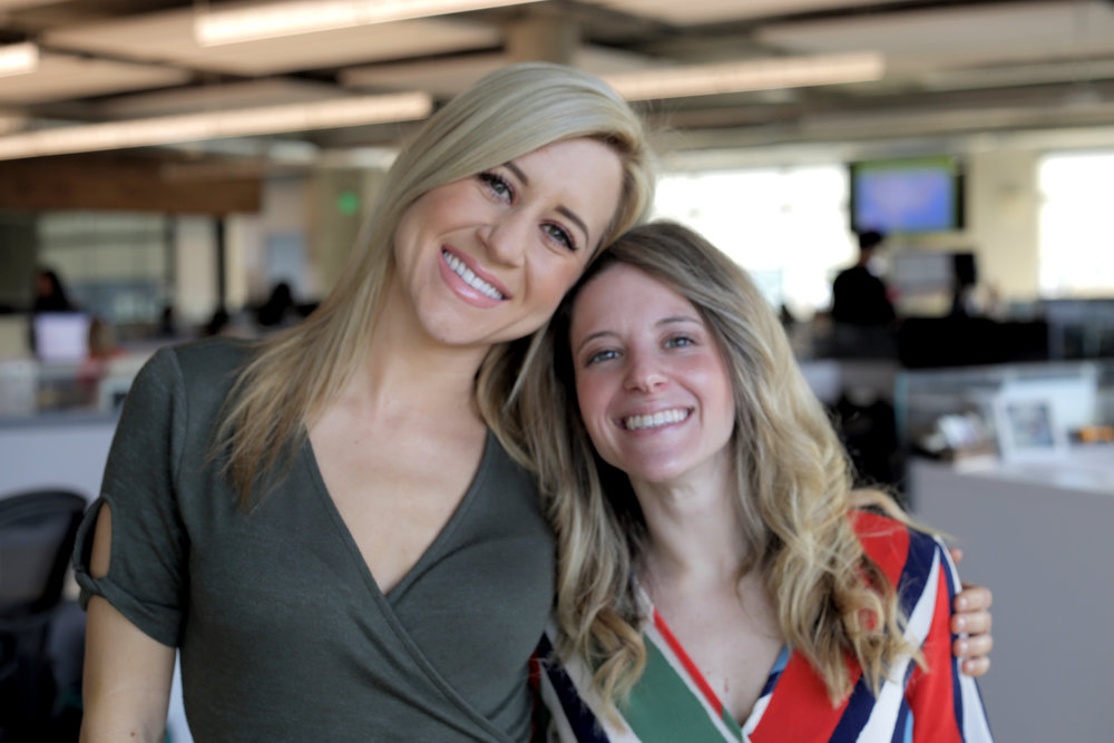 Banfield's Employer Brand team, Chelsea Saake (left) and Allison Dunsmore (right)