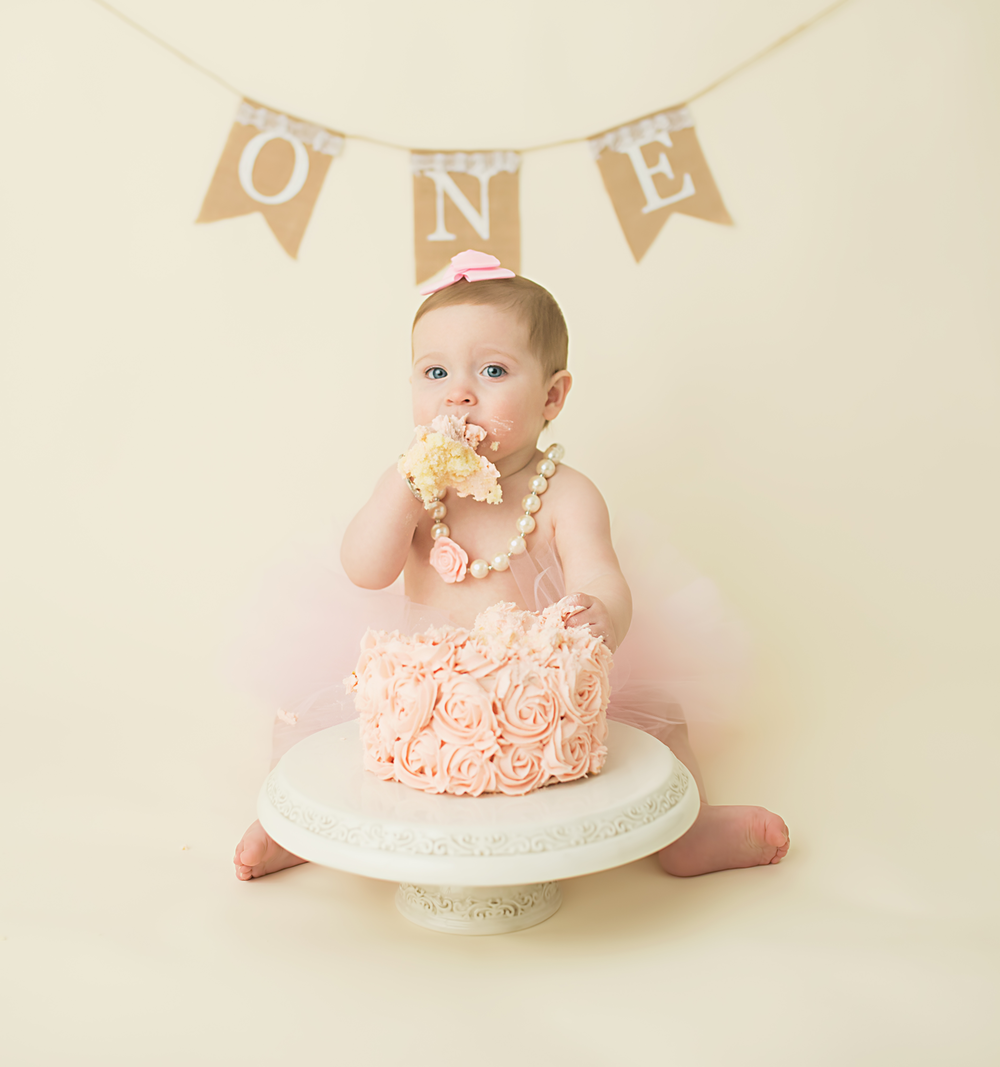 North Mississippi One Year Old Birthday Cake Smash