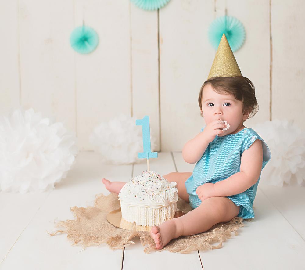 One Year Old Cakesmash