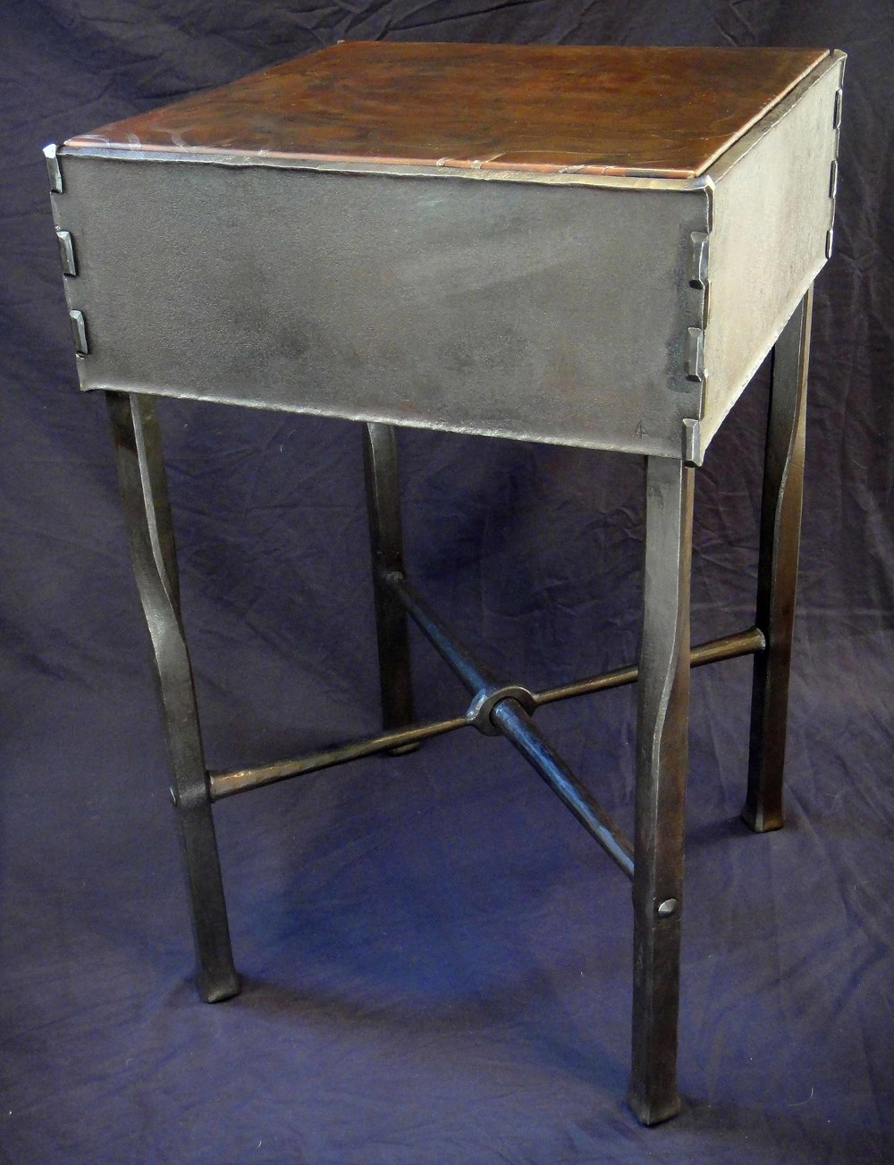 night stand, steel, 2011
