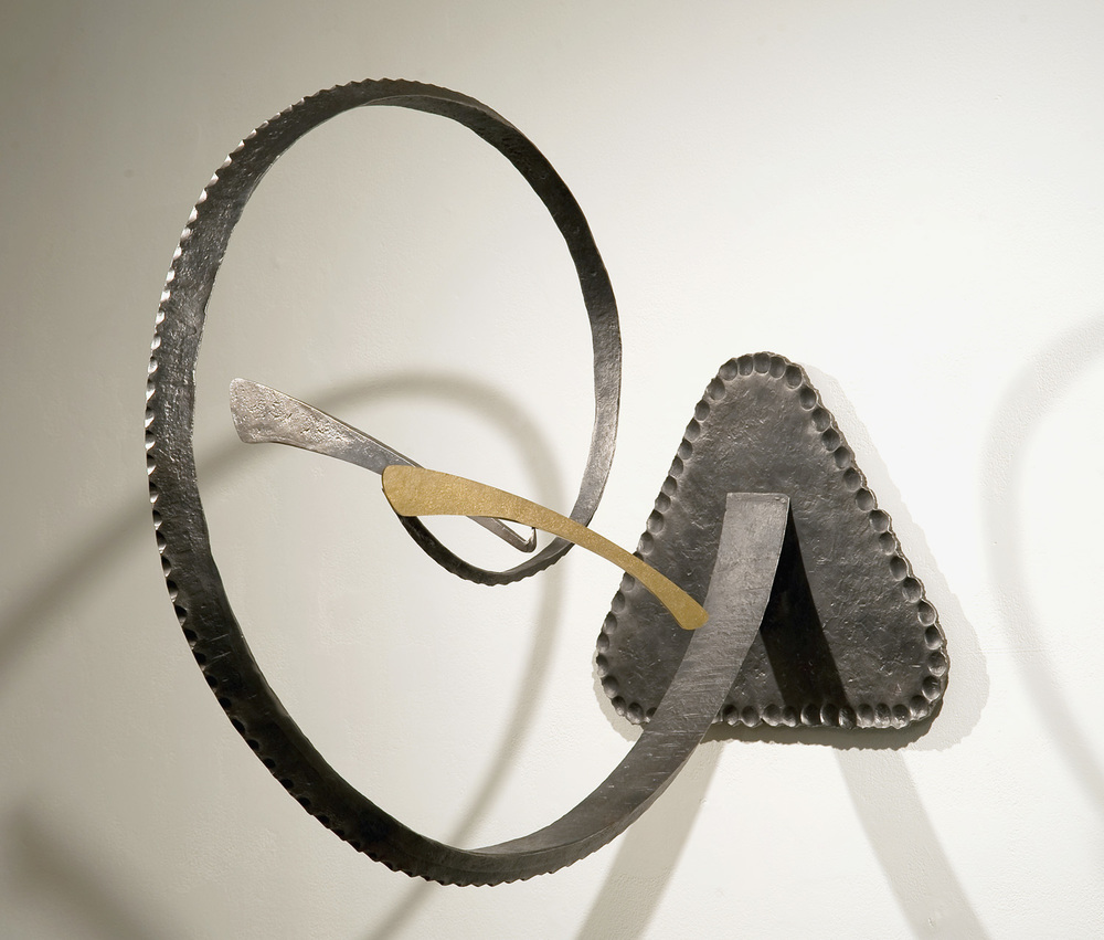 An Improbable Change of Heart, steel, bronze, 2009
