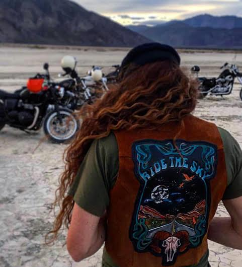 Dannielle Cobb at Babes in Borrego in Custom Patch